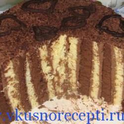 торт крученый