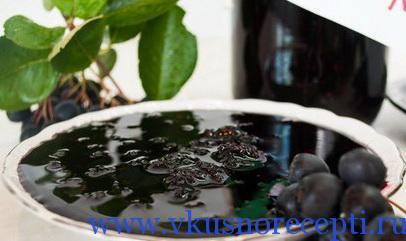 заготовки на зиму рецепты из черноплодной рябины