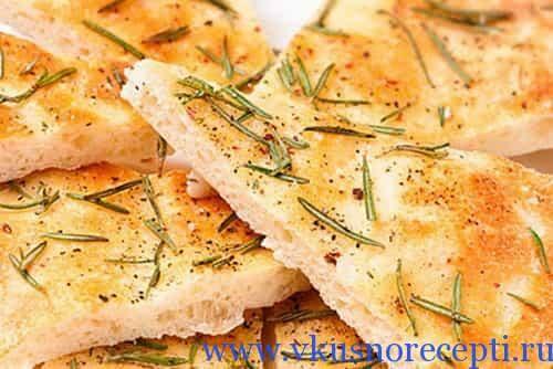 рецепт фокачча с сыром с фото пошагово