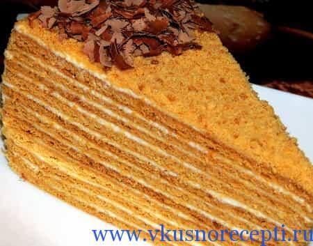 нежнейший торт медовик рецепт