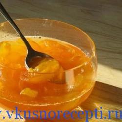 рецепт варенья из кабачков с лимоном и апельсином