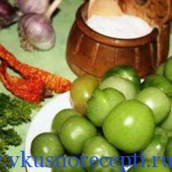 рецепты из зеленых помидор