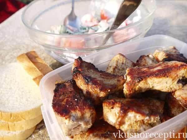 Быстрый рецепт мариновки шашлыка из свинины