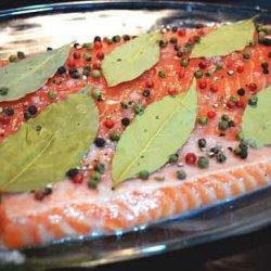 рецепт соленой горбуши под семгу
