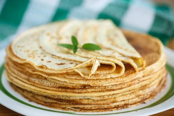 Рецепт блинов на молоке пошагово с картинками