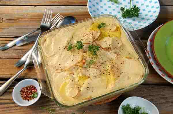 Рецепт картофельной запеканки с печенью