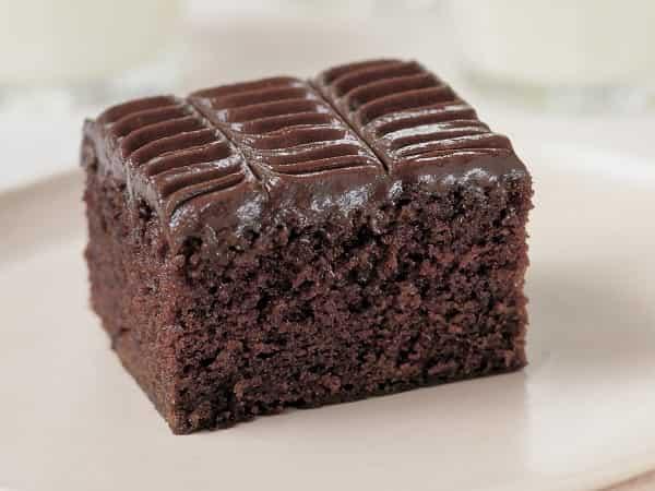 Рецепт шоколадного манника на кефире