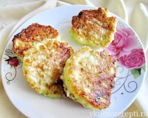 Оладьи из кабачков с сыром рецепты быстро и вкусно