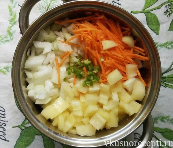 Рецепт салата из синеньких на зиму