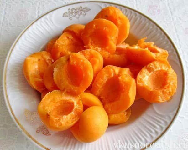Рецепт абрикосового компота на зиму