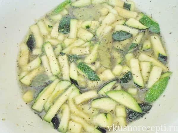 Салат из кабачков как грибы на зиму