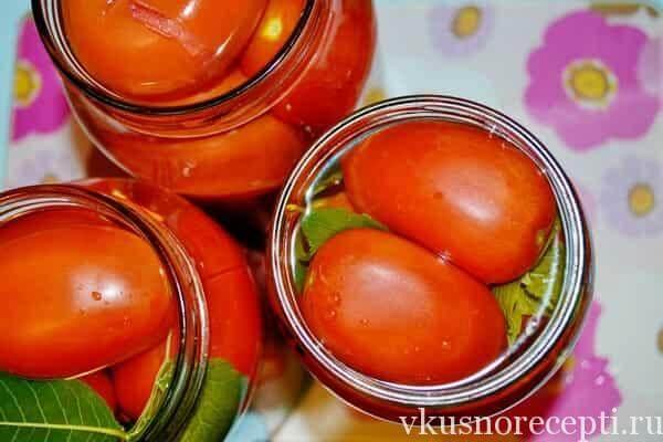 Маринованные томаты на зиму