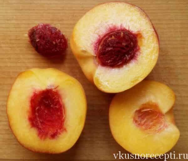 Персиковое варенье с грушами