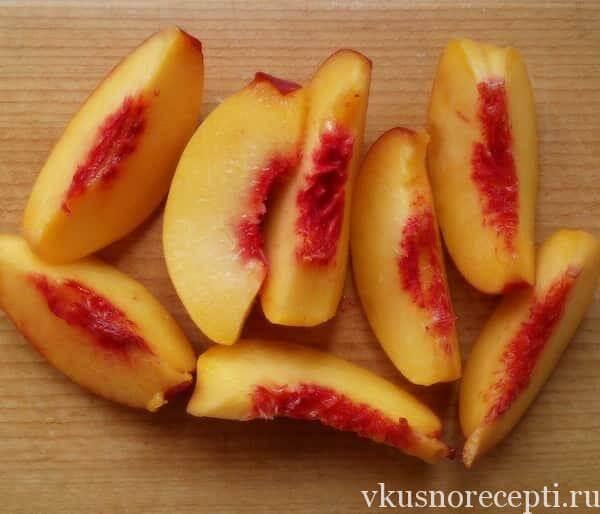 Персиковое варенье с грушами на зиму