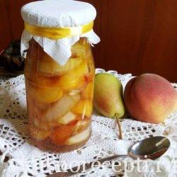 Варенье из персиков и груши на зиму