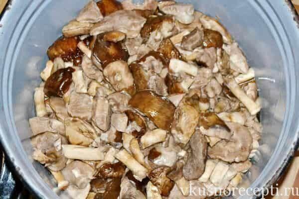 Маринованные грибы шампиньоны на зиму