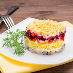 Селёдка под шубой рецепт классический с яйцом. Пошаговый рецепт с фото