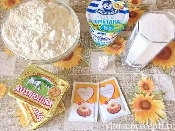 Торт муравейник ингредиенты