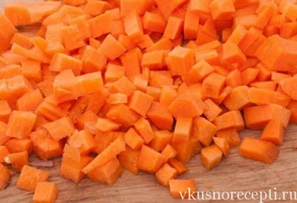 Салат винегрет классический с морковью