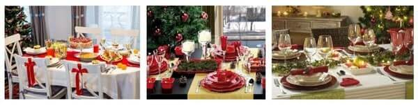 Как украсить праздничный стол