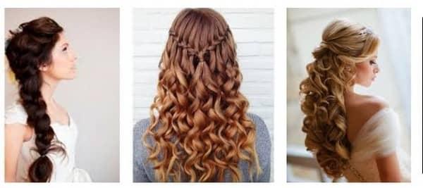 Прически на новый год на длинные волосы