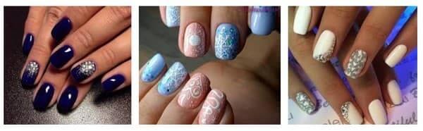 Как накрасит ногти на новый год