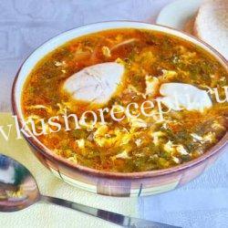 Зеленый борщ с щавелем и яйцом - классический рецепт с фото