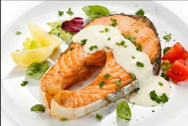 Рыбная закуска из лосося