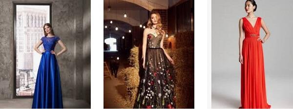 Красивые платья на Новый год 2019