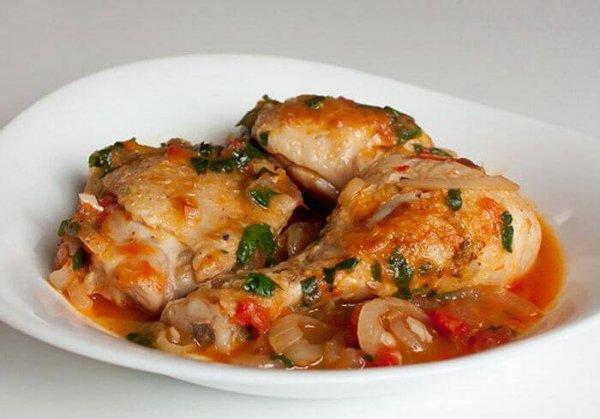 Чахохбили из курицы по-грузински классический