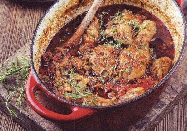 Чахохбили из курицы по-грузински: рецепт с фото