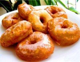 постные картофельные пончики