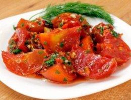 Рецепт помидоров по-корейски быстрого приготовления