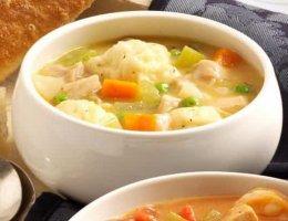 рецепт супа с клецками
